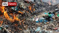 What is happening to the UK's plastic waste?