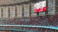 Fans Attend Turkey-Wales Euro 2020 Match in Azerbaijan