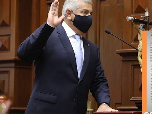 Congresista del Perú se disculpa con el Rey de España por discurso de Pedro Castillo