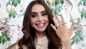 Lily Collins Shows Off Engagement Ring and Talks Wedding Planning With Fiancé Charlie McDowell (Exclusive)