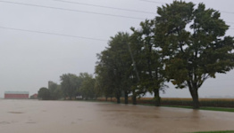Flooding rains subside across Ontario, but water remains high