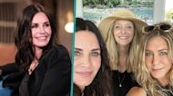 'Friends' Pals Jennifer Aniston, Courteney Cox & Lisa Kudrow Celebrate Fourth Of July Together