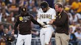 Tatis suffers shoulder injury sliding into 3rd, exits game   Watch ESPN