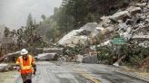 Heavy rain unleashes mud, debris flows in Northern California areas burned by wildfire