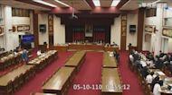 立法院外包清潔員 出現疑似症狀