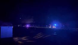 Fire crews battle fire in Green Valley