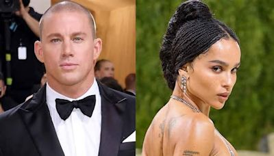 Zoë Kravitz Shines in See-Through Gown as She and Channing Tatum Arrive Separately to Met Gala