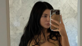 Kylie Jenner's metallic gold bikini is the perfect look for summer