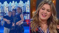 Kelly Clarkson's Son Remington Interrupts Chris Martin Mid-Performance