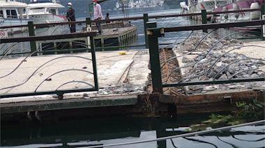 日月潭排浮碼頭 因乾旱、豪雨水位變化損壞-台視新聞網