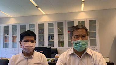 參加聯亞測試證實打到安慰劑 台中議員何敏誠登記打高端