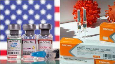 外資發報告!歐美疫苗大勝 中國疫苗接種確診數「飆出圖表外」
