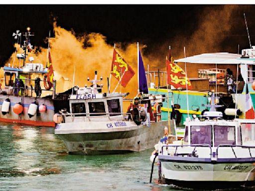 漁業糾紛升級 法擬制裁英國