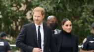 Meghan Markle and Prince Harry Wore Matching All-Black Outfits in New York City