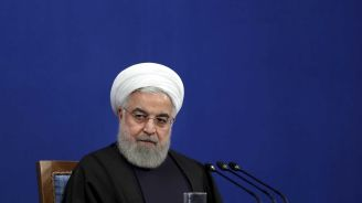 Iran's president: Trump doesn't want war ahead of 2020 vote