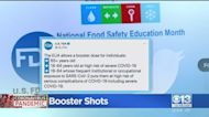 FDA Approves COVID Vaccine Booster Shots For Some High-Risk Individuals