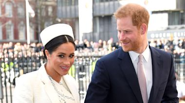 Prince Harry and Meghan Markle give £7000 wedding present to Idris Elba and new wife Sabrina Dhowre