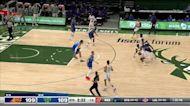 Chris Paul with an assist vs the Milwaukee Bucks