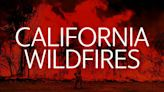 Here's where major California wildfires are still burning while red flag warning persists