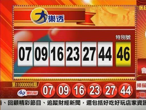 6/11 大樂透、雙贏彩、今彩539 開獎囉!