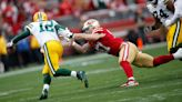 Nick Bosa hoping 49ers can make Aaron Rodgers uncomfortable
