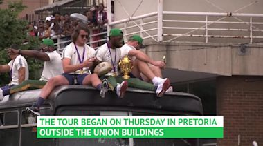 South Africa begin five-day trophy tour