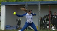 Williamsburg senior pitcher Madi Ogden throws her fourth perfect game this season
