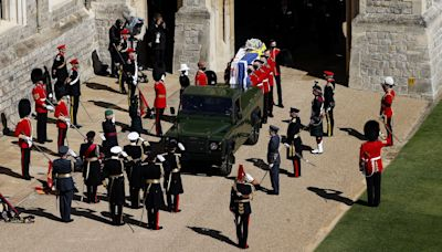In photos: The funeral of Prince Philip puts military and royal tradition on display