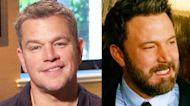 Matt Damon Talks Reuniting Onscreen With Ben Affleck For the First time in Over 20 Years (Exclusive)