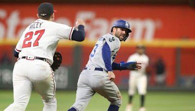 MLB》道奇泰勒失誤跑壘 賠掉第9局得分機會