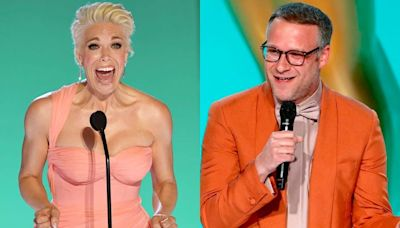 'Ted Lasso' star Hannah Waddingham had a brilliant response to Seth Rogen mispronouncing her name at the Emmys