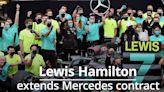 F1: Lewis Hamilton extends Mercedes contract
