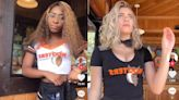 Hooters employees are pushing back against new revealing uniforms that include shorts so short that they're 'like underwear'