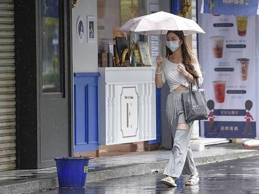 雨區持續擴大!16縣市豪、大雨特報 慎防雷擊強風
