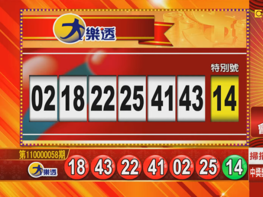 6/18 大樂透、雙贏彩、今彩539 開獎囉!