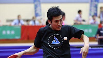 全運》台南楊子儀意外擊敗桌球教父 莊智淵回神率高市晉四強