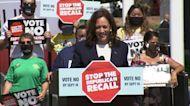 VP Kamala Harris campaigns for Gov. Newsom in Bay Area