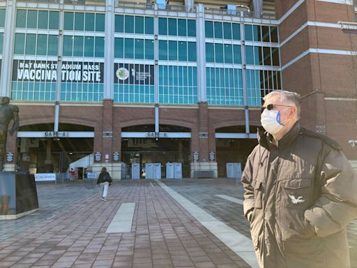 Baltimore's second mass vaccination site M&T Bank Stadium opens with 250 appointments