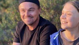 Leonardo DiCaprio praises teen climate change activist Greta Thunberg as 'leader of our time'
