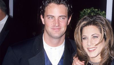 Jennifer Aniston Didn't Know Matthew Perry Had Intense Anxiety On 'Friends'