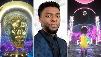 Redesigned Chadwick Boseman NFT art revealed after Oscars controversy