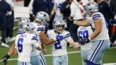 Cowboys' rally stuns Falcons 40-39 in McCarthy's home debut