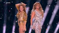 J.Lo and Shakira's jaw dropping Super Bowl halftime performance