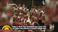 Ben Roethlisberger Surprises Freeport Football Team