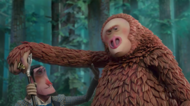 Missing Link trailer: Hugh Jackman's explorer searches for Zach ​Galifianakis's Big Foot in stunning stop motion