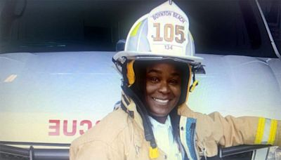 Black former firefighter sues Florida city after mural depicted her with white face