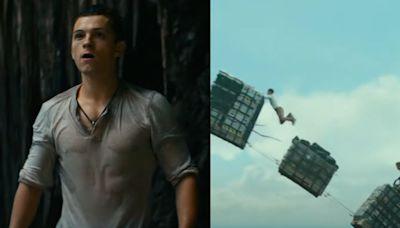 Uncharted, tráiler oficial: Tom Holland y Mark Wahlberg recrean escena espectacular del videojuego
