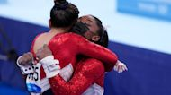 Simone Biles withdraws from all-around competition, Katie Ledecky wins her first gold of Tokyo 2020, Team USA Men's Basketball rolls on Iran | What You Missed