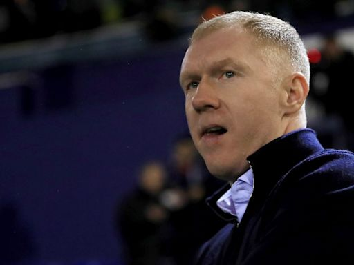 Co-owner Paul Scholes steps in as caretaker manager at Salford City