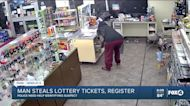 Police search for lottery ticket thief